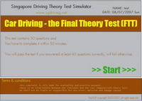 Basic and Final Driving Theory Simulator is Up
